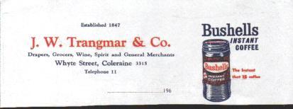 .W.Trangmar Australia | Trangmar Family archive