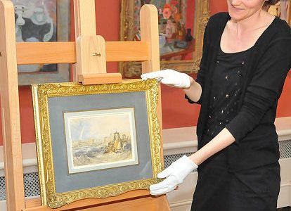 JMW Turner watercolour acquired by the city