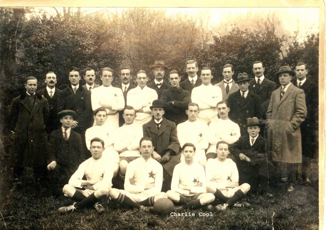 A football team: circa pre 1920 | From the private collection of the Shepherd family