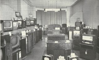 The television and radio department : click on image to open a large version in a new page   From the private collection of Josephine Braines
