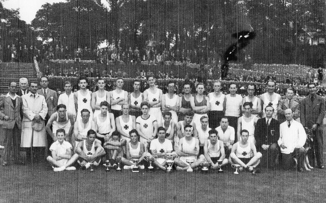 Brighton and Hove Athletic Club c1946 | From the private collection of Terry Shorter