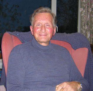 Tony Simmonds, 2005   Photograph taken by Zoe Woods