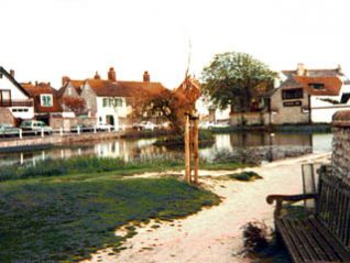 The pond at Rottingdean | Photo from a private collection