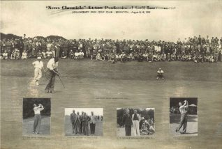 1949 Final putt on the 18th | HPGC Archive