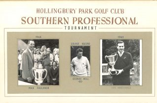 1964 & 65 PGA Tournament   HPGC Archive