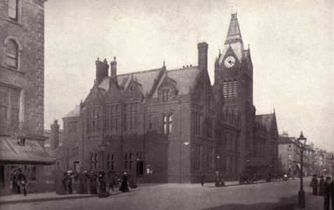 Photos of the old Hove Town Hall