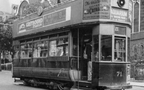 Restoring tram Number 53