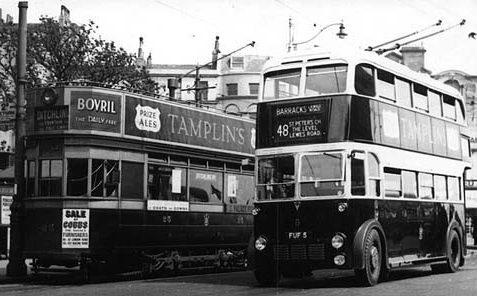 Trams on Elm Grove