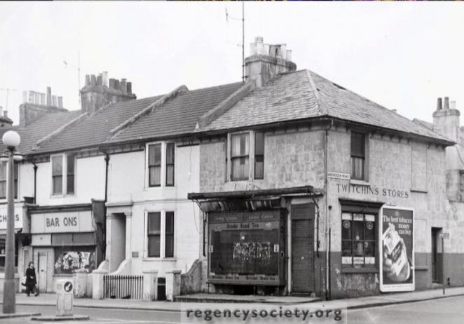 Twitchin's store 1973 | Image reproduced with kind permission of The Regency Society and The James Gray Collection
