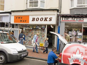 Two Way Books, 54 Gardner Street, Brighton | Photo by Debbie Lias