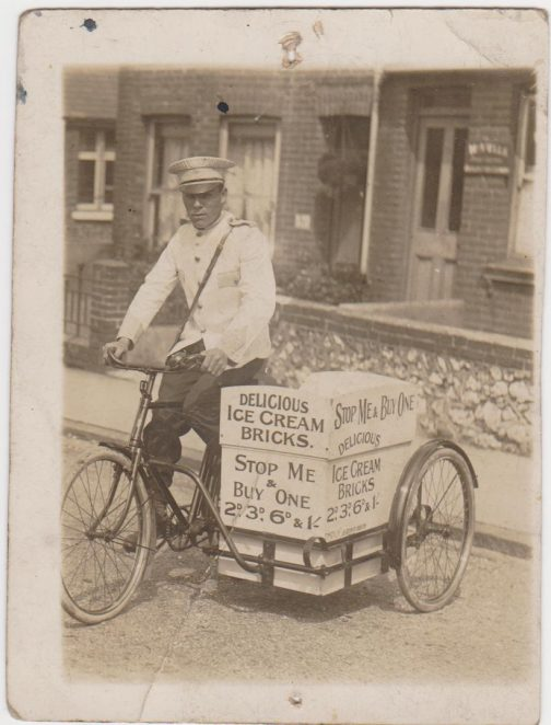 Uncle Tom: ice-cream seller   From the private collection of Joy Panteli