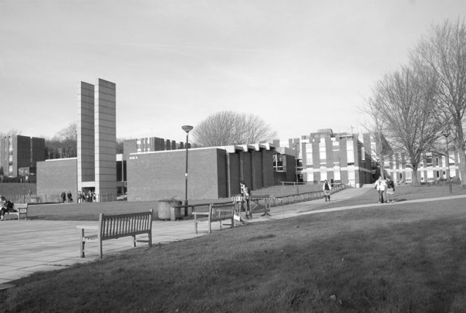 University of Sussex: Arts A building | From the personal collection of Jennifer Drury