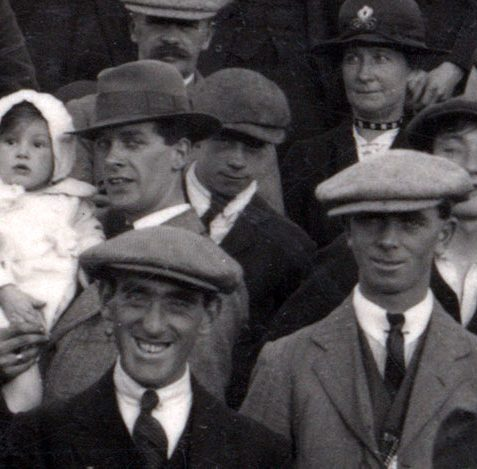 Crowd at the Brighton ground for Brighton v Grimsby, September 29th 1920 | From the private collection of David Ransom