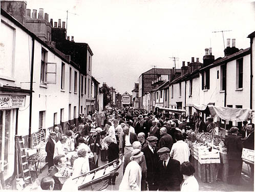 Upper Gardner Street in 1971 | Picture reproduced with permission from Brighton History Centre