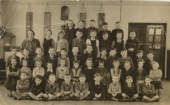 Miss Budd's class c1952 | From the private collection of Barry Plank