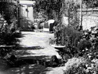 Clifton Terrace back garden