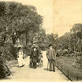 Public gardens between the Steine and the Level