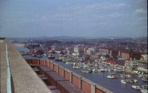 Views of the harbour circa 1970