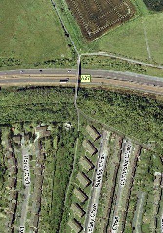 Virtual, A27 / Dyke Railway Trail | www.maps.live.com - Microsoft Virtual Earth