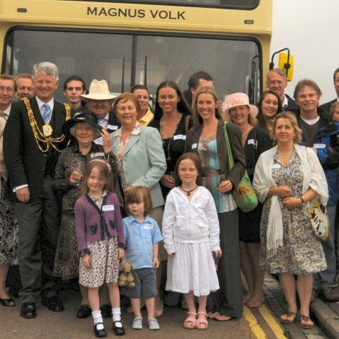Members of the Volks family | Photo by Tony Mould
