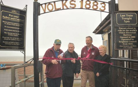 First day of Volks Railway season