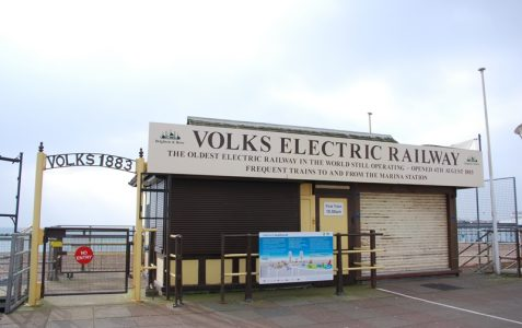 Description and Volk's Railway offices