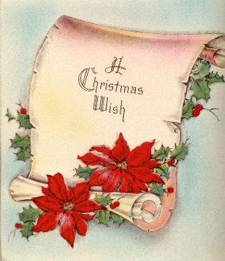 1940s Christmas card | From the private collection of Jennifer Drury
