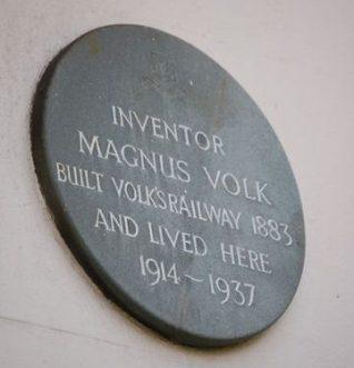Magnus Volk's plaque | Photo by Tony Mould