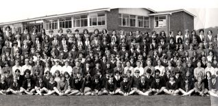 Westlain Grammar School 1968:  click on photo to open a large version in a new window | From the private collection of Dave Crockatt