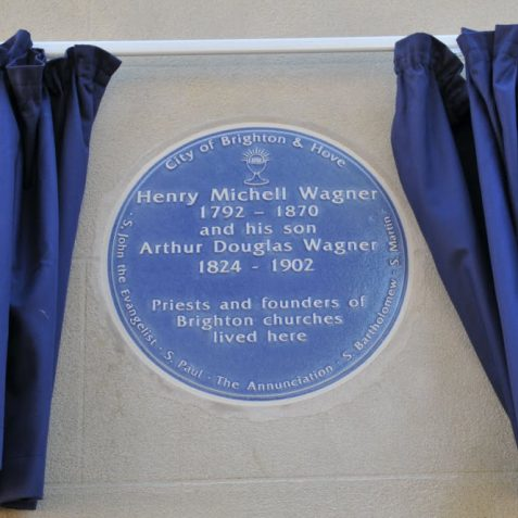 Wagner blue plaque ceremony | Photo by Tony Mould