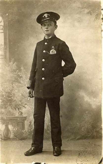 Walter G Dunkerton, aged 14 | From the private collection of C. Banwell