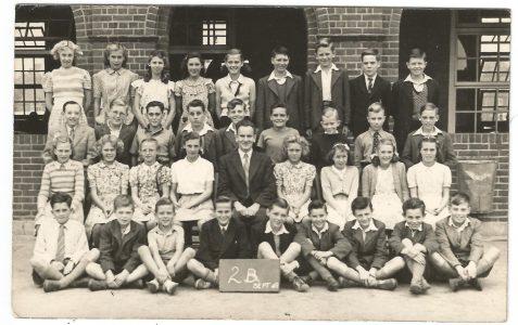 Class 2B Sept. 1949