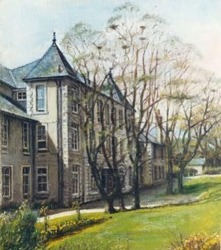 The old Fitzherbert School, Once called St John the Baptist Secondary Modern School. Before that it was called Warren Farm. | From the private collection of John Leach