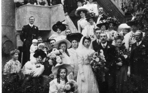 Preston Wedding 1908
