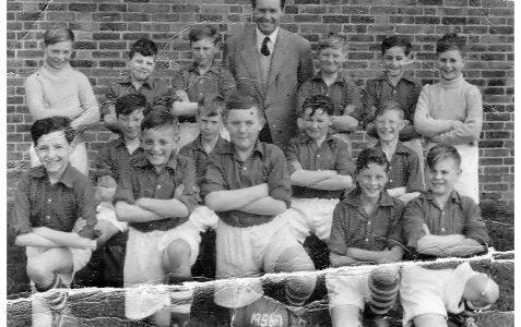 First football team 1956/57