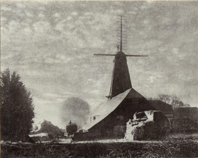 West Blatchington Windmill c.1928 | Photo by, H. G. Martlew