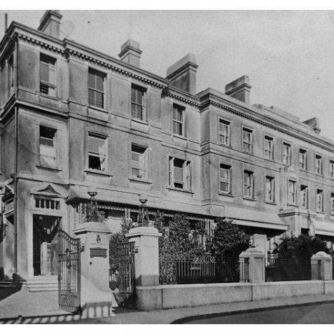 St. Dunstan's West House | From the private collection of Tony Drury