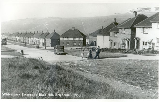 Whitehawk Estate and Race Hill, Brighton | Photograph courtesy: Step Back in Time