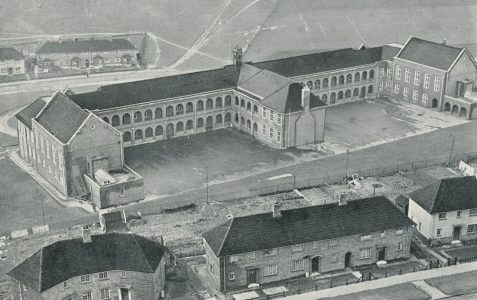 Whitehawk School from the air