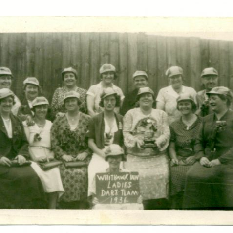 Ladies Darts Team | From the private collection of Eric Cook