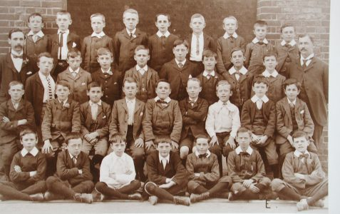 Brighton school photo circa 1900