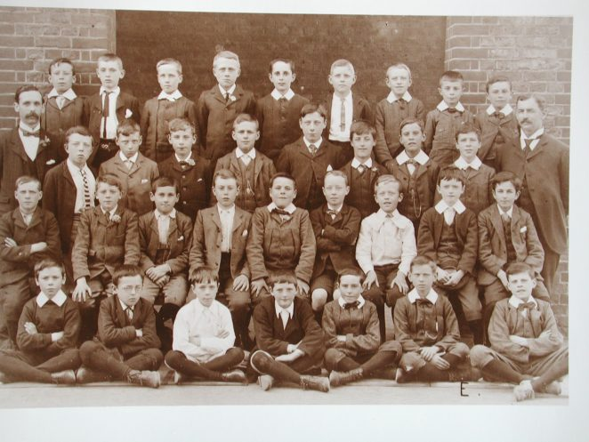 Brighton school photo circa 1900 | From the private collection of Gordon Muggeridge