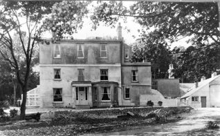 Woodingdean House, date unknown but probably 1950s | From the private collection of Jennifer Drury: click on the imgage to open a large version in a new window.