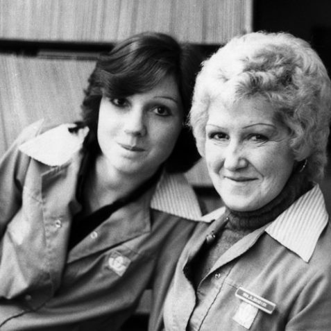 Debbie, & Shirley Braddick, Who ran Records & Audio in Western Road | Andre Havard