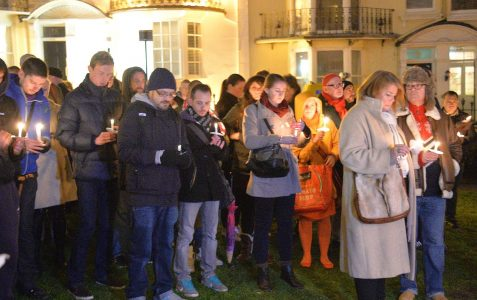 World AIDS Day: candlelight vigil