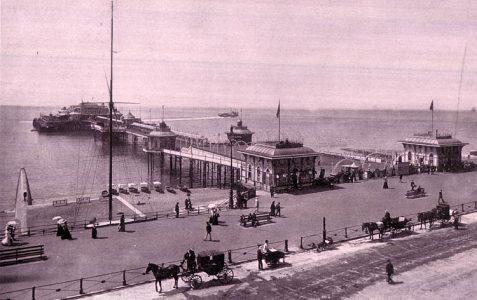 Photo of the pier c1910