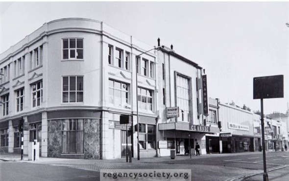 Classic Cinema: Western Road | Image reproduced with kind permission of The Regency Society and The James Gray Collection