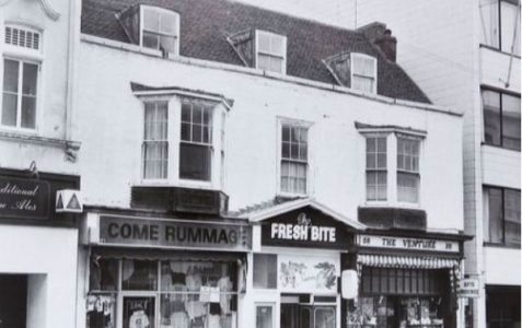 West Street shops in 1984