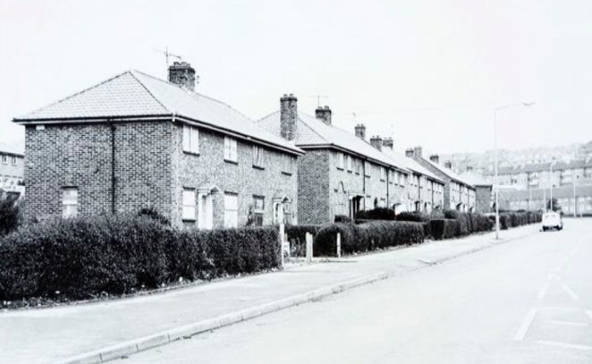 Whitehawk Road in the 1970s | Image reproduced with kind permission of The Regency Society and The James Gray Collection