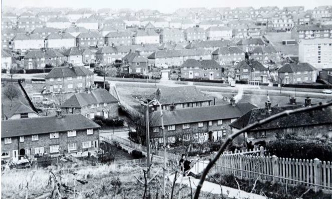 Whitehawk estate 1976 | Image reproduced with kind permission of The Regency Society and The James Gray Collection
